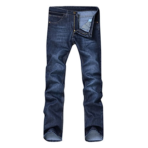 - Benficial Men's Summer Slim Simple Denim Work Pants Jeans with Cargo Pockets