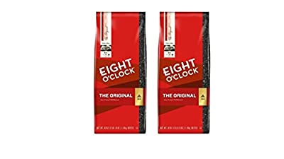Eight O'Clock The Original Ground Coffee, 42-Ounce Package (2 X 42 Ounces)