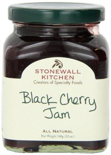 Stonewall Kitchen Jam, Black Cherry, 12 Ounce (Jam Cherry Fresh)