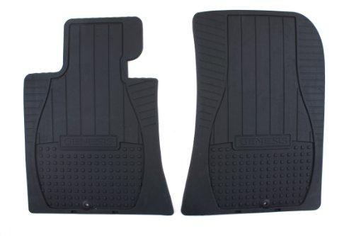Hyundai Genuine Accessories U8130-3M100 Black Front All Weather Floor Mat for Genesis