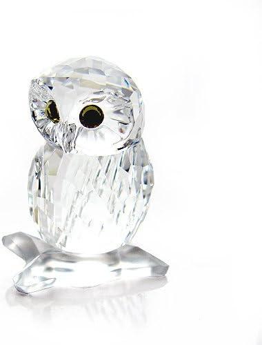 Swarovski Clear Crystal Figurine Small OWL 1003319