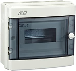 unitec 47102 ap fr small fuse box ip 55 grey 8 module amazon co unitec 47102 ap fr small fuse box ip 55 grey 8 module