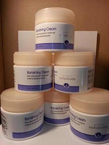 Avon Solutions Banishing Cream Skin Discoloration Improver - Lot of 6 Jars
