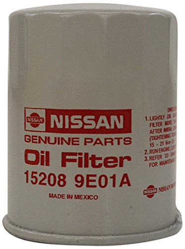 2002 Nissan Titan Part - Genuine Nissan 15208-9E01A Oil Filter