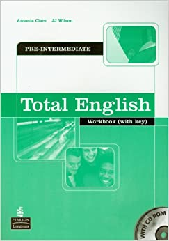 Book Total English Pre-intermediate Workbook with Key and CD-Rom Pack: Workbook and CD-Rom Pack