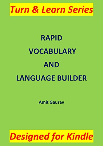 RAPID VOCABULARY AND LANGUAGE BUILDER Pdf