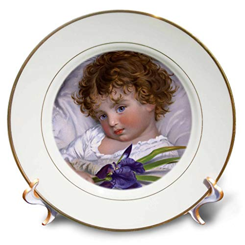 (3dRose VintageChest – Masterpieces - John Anster Fitzgerald – The Concert - 8 inch Porcelain Plate (cp_302635_1))