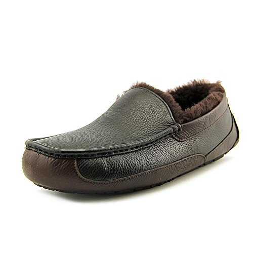 UGG Men's Ascot Black/China Tea 8 D - Medium by UGG