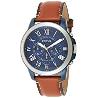 Deals on Fossil FS5151 Mens Grant Stainless Steel Quartz Watch