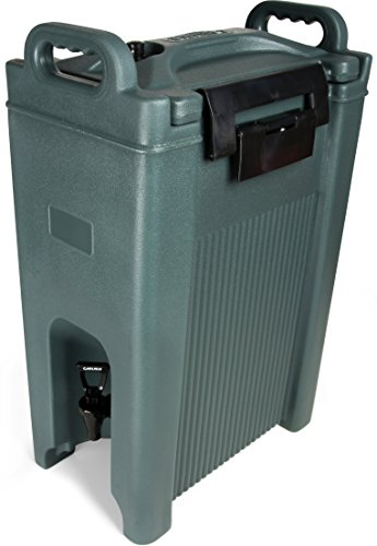 Carlisle XT500059 Cateraide Insulated Beverage Server Dispenser, 5 Gallon, Slate Blue by Carlisle