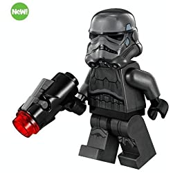 LEGO Star Wars Shadow Stormtrooper Minifigure With Blaster From 75079.