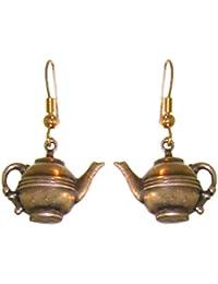 1/2 x 7/8 Teapot Earrings