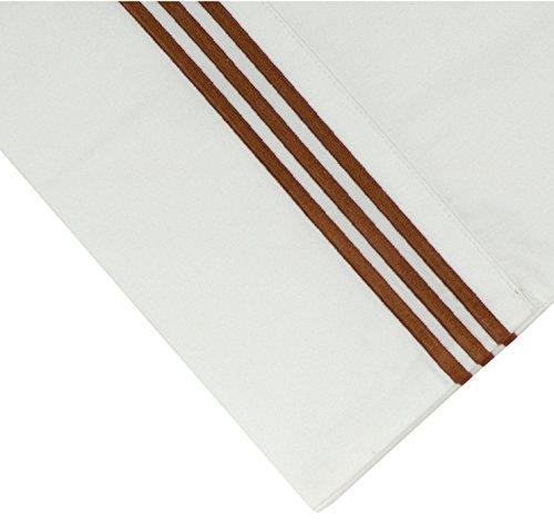 Cotton Sheet Set Emb - Pointehaven 300 Thread Count Egyptian Cotton Embroidered Pillowcase, King, Ivory