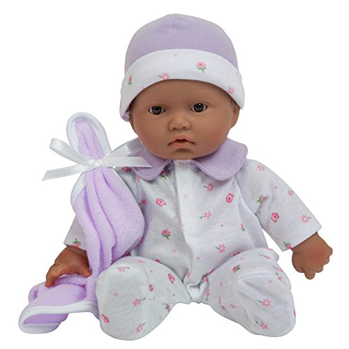 JC Toys, La Baby 11-inch Hispanic Washable Soft Body Play Doll For Children 18 months Or Older, Designed by Berenguer by JC Toys
