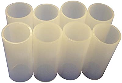 Science First Plastic Disposable Mouthpieces for Digital Spirometer (Pack of 50)
