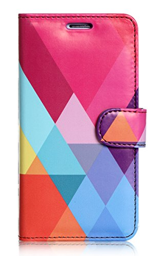 S6 Edge Case, Galaxy S6 Edge Case, FYY [Executive Wallet Kickstand] Premium Leather Flip Case Stand Cover with Card Slots and Note Holder for Samsung Galaxy S6 Edge Pattern-15