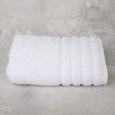 Don Algodón Toalla Baño Grande Zero Twist, Blanco, 100x150 cm ...
