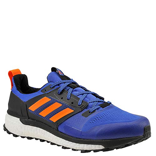(adidas outdoor Men's Supernova Trail Hi-Res Blue/Hi-Res Orange/Black 11 D US)