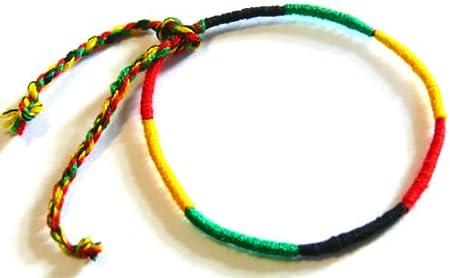 Bracelet Brésilien de l/'Amitié Macramé Coton Friendship rasta reggae