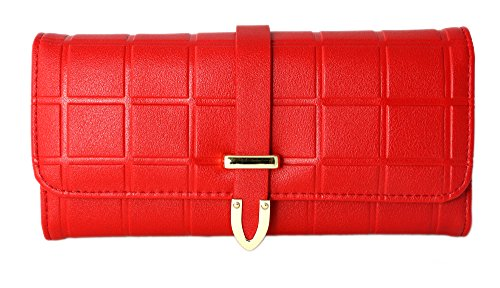 Ladies Wallet Sets With Matching Watch -Red by Gino Milano (Image #3)