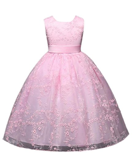 Princess Dress Prom Flower Party Girl Ball Maxi Tulle AU 1 zhaoabao Kids Gown Lace WavBBx