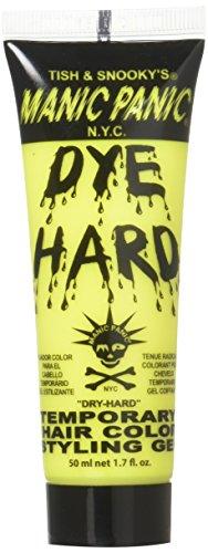 Manic Panic Dye Hard Temporary Hair Color Gel - Electric Banana