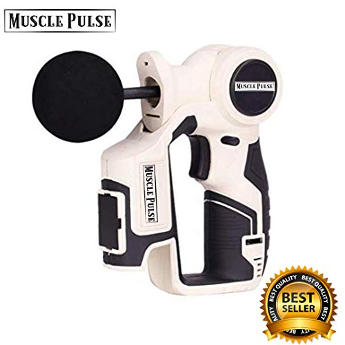 (Massage Gun - Chiropractic Massager with Multiple Heads - Trigger Point Massager - Jigsaw Massager - Portable, Rechargeable Massage Device with 6 Variable)