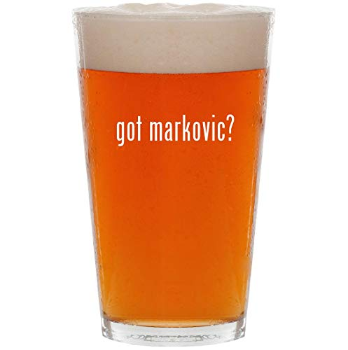 got markovic? - 16oz All Purpose Pint Beer Glass for sale  Delivered anywhere in USA