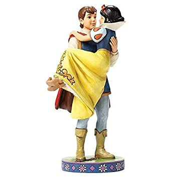 Disney Traditions by Jim Shore Snow White with The Prince Stone Resin Figurine, 9.5