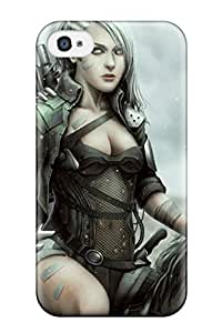 Jordyn Siegrist's Shop 5359377K59901626 Durable Women Warrior Back Case/cover For Iphone 4/4s