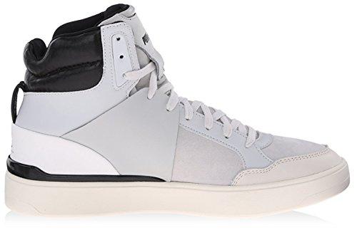 Puma Mcq Brace Femme Mediados la zapatilla de deporte Glacier Gray/Star White