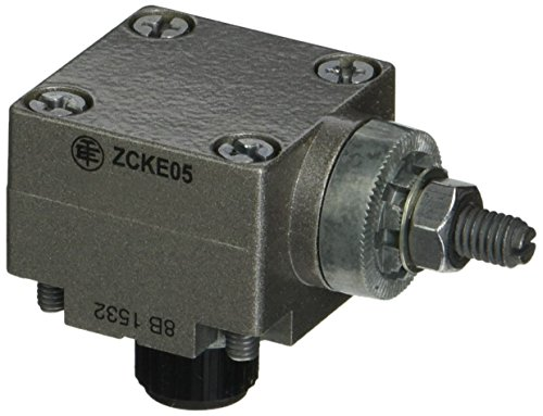 Telemecanique ZCKE05 Metal Limit Switch Head For Zckj Series Body And Zcky Series Actuator, Rotary-Type, Cw And Ccw, Spring Return