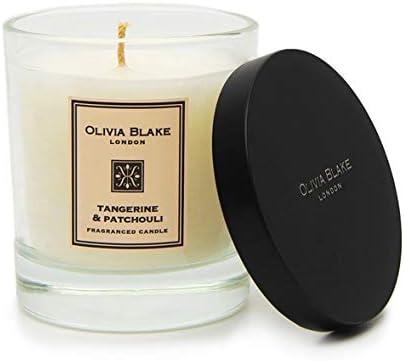 Olivia Blake Tangerine Patchouli Fragranced Candle 150g Amazon Co Uk Kitchen Home