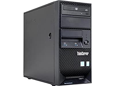 Lenovo ThinkServer TS140 Tower Server System Server Desktop Computer, Core i3-4150 3.5GHz, 8GB DDR3 Max to 32GB, No HDD (support up to 16TB), No Operation System