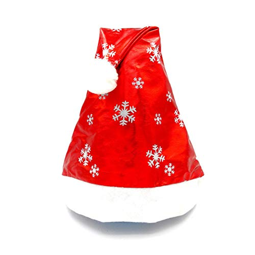 HANANei Clearance Sale Christmas Party Santa Hat Red and White Cap for Santa Claus Costume New (B)]()