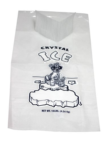 - Pinnacle Mercantile Plastic Ice Bags 10 Lb - 12