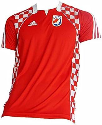 adidas - Camiseta de la selección nacional croata de balonmano rojo rojo Talla:large: Amazon.es: Deportes y aire libre