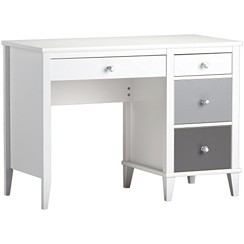 Little Seeds Monarch Hill Poppy Desk, White/Gray from Little Seeds