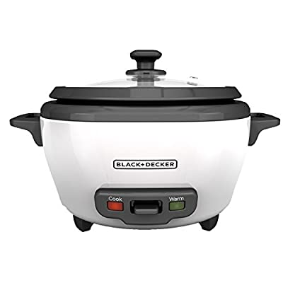 BLACK+DECKER RC503 Dry/3-Cup Cooked Rice Cooker