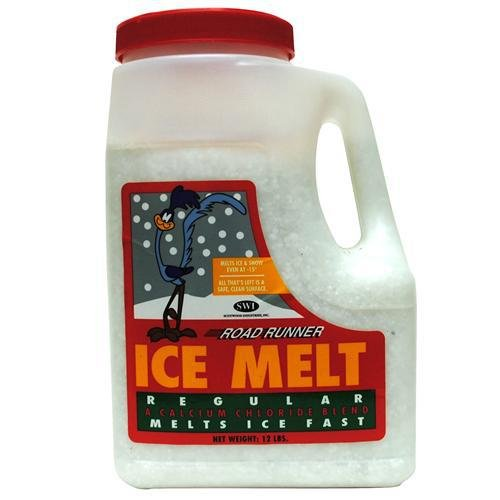 Scotwood Industries 12J-RR Road Runner 12-Lb. Premium Ice Melt - Quantity 4 by Scotwood Industries