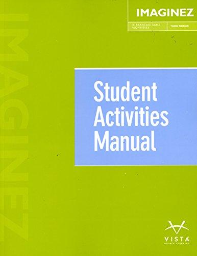 Imaginez, 3rd Ed, Student Activities Manual