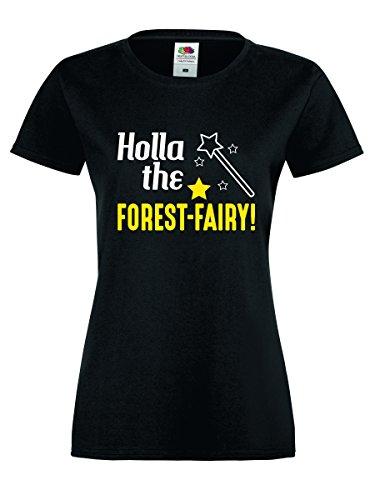 Shirt-Checker - Camiseta sin mangas - para mujer SCHWARZ-WEISS-NEONGELB