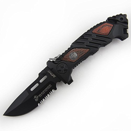 Marines-Iron-Mike-Folding-Knife-525-Inch-Closed