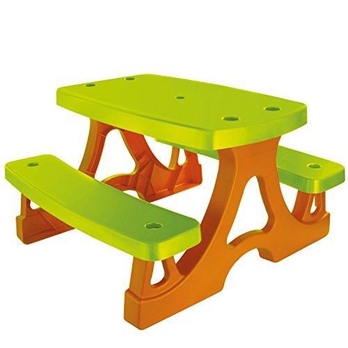 Kinder Picknicktisch Sitzgarnitur Kindersitzgruppe Tisch und Bank für Spielhaus