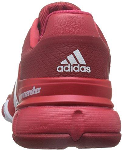 adidas Barricade 2016, Zapatillas de Tenis para Hombre Rojo (Rojo (Rojpot / Ftwbla / Rojray))