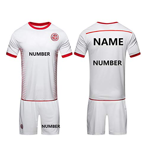 Game Dedicated Football Clothing Suit Sweat-Absorbent Breathable Men's Sportswear Suit - Custom Digital and Name