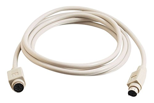 Cable PS//2 C2G 5m PS//2 Cable 5 m, Male Connector//Female Connector, Gris, 188 g