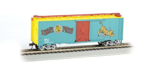 Bachmann Ringling Bros. and Barnum & Bailey 40' Tiger #17 Box Car (HO Scale) -