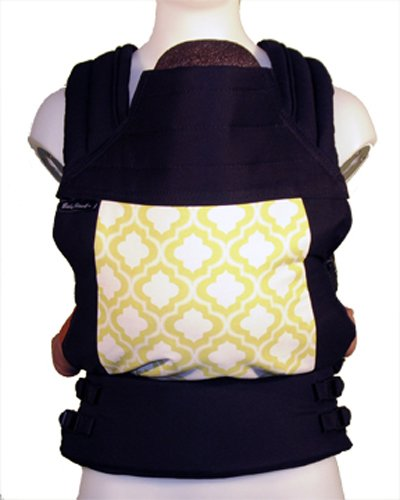 BabyHawk Oh Snap! Baby Carrier, Black/Lime Motifs