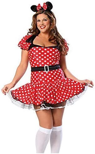 Mujer Talla Grande Disney Minnie Mouse Disfraz Traje Para Mujer ...